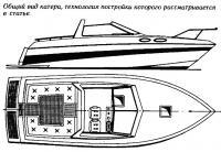 Общий вид катера, технология постройки которого рассматривается в статье