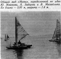 Общий вид «Мевы», переделанной по идее Ю. Иванова, А. Зайцева и В. Михайлика