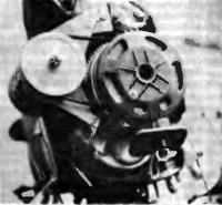 Общий вид ПМ «Нептун-23», оборудованного электростартером и генератором