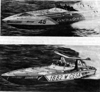 Океанские гоночные катера итальянской команды