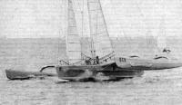 Океанский тримаран