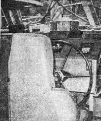 Основное рабочее место Джипто — кресло у штурвала в рулевой рубке