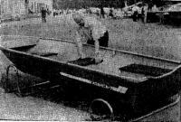 Открытая «озерная» лодка «Казанка-7»