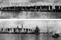 Панорама Парусного Берега во время соревнований