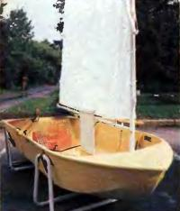 Парусник из легкого сплава «Малютка-2П»