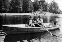 «Пелла-фиорд» с веслами