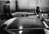 Плазовые работы — изготовление шаблона шпангоутной рамы