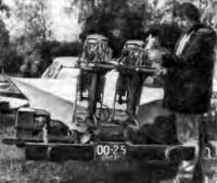 Подготовка моторов между заездами