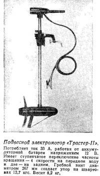 Подвесной электромотор «Трастер-II»