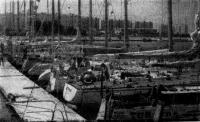 После первого этапа в гостеприимной гавани Ленинградского центрального яхт-клуба