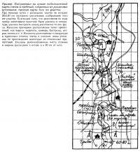 Построенная на основе карты-схемы и сведений собранных из различных источников