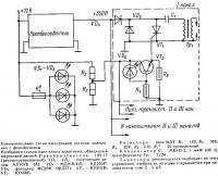 Принципиальная схема электронной системы зажигания с фотодатчиком