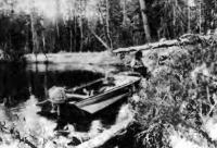 Привал на реке Пим