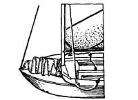 Проводка стаксель-шкотов