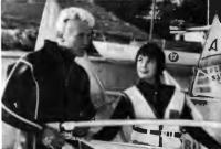 Рабочий момент съемок фильма «Соперницы»