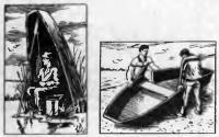 Разборная двухсекционная лодка «Дуплет»
