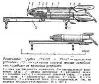 Реактивные орудия РО-132 и РО-82 — самолетные установки PC