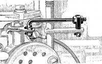 Регулируемая тяга на моторе