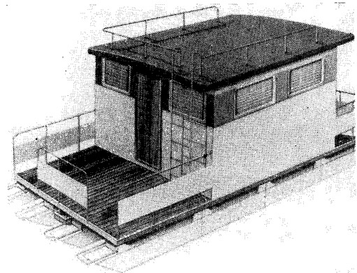 Рис. 10. Плавучий коттедж