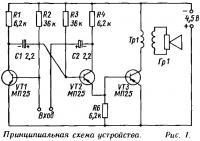 Рис. 1. Принципиальная схема устройства