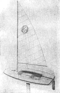 Рис. 3, Автомобильный двухместный мини-швертбот