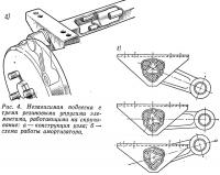 Рис. 4. Независимая подвеска с тремя резиновыми упругими элементами