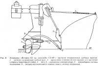 Рис. 6. Установка «Ветерка-12» на мотолодке СА-80