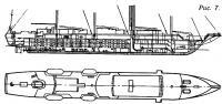 Рис. 7. Общее расположение круизного судна «Виндстар»