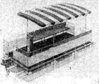 Рис. 8. Плавучая веранда