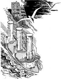 Рисунок роторного ветрохода