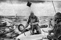 С борта яхты «Браво» внимательно следили за парусной доской