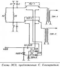 Схема ЭСЗ, предложенная С. Елизарьевым