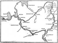 Схема кольцевого маршрута с использованием Северо-Екатерининского канала