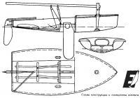 Схема конструкции и планировка кокпита