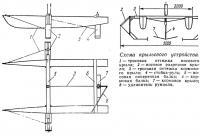 Схема крыльевого устройства