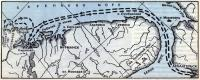 Схема маршрута плавания по Баренцеву морю
