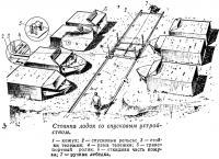 Схема организации стоянки