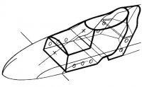 Схема размещения капсулы безопасности в корпусе
