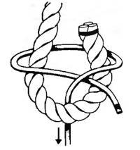 Схема шкотового узла