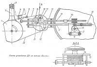 Схема устройства ДУ на моторе «Вихрь»