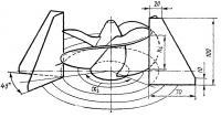 Схема замера для расчета шага