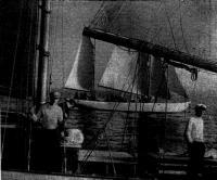 Схежа маршрута плавания яхт «Ударник» и «Пионер» вокруг Скандинавии