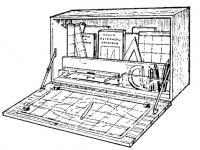 Штурманский стол на малых лодках