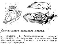 Сигнализатор перегрева мотора