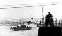 «СКА» охранения заходит в порт Батуми для вывода и сопровождения транспорта