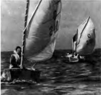 Соревнования «Оптимистов» в Хаапсалуском заливе. Лидирует Вайко