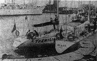Советские яхты в Рыбной гавани Фредериксхавна