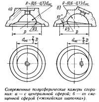 Современные полусферические камеры сгорания