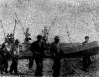 Спуск «МАХ-4» на воду в Дудинке