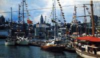 Стоянка кораблей в порту
